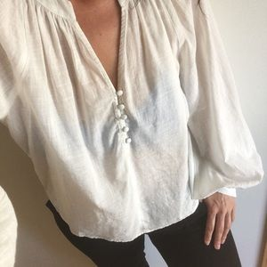 URBAN OUTFITTERS PEASANT BLOUSE